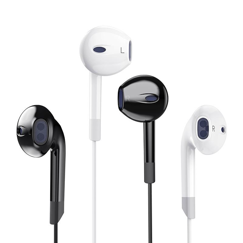 tpyec耳机入耳式线控oppo适用华为typec耳机小米一加耳机有线扁头
