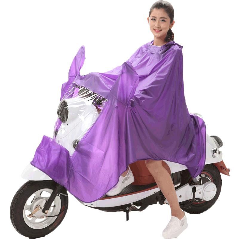 华香电动电瓶单人男女自行车雨衣