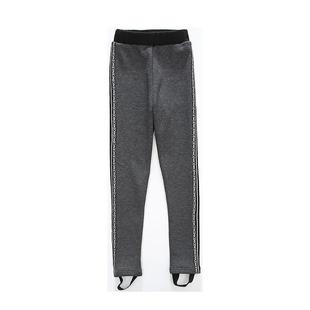 女童加絨加厚打底褲一體絨外穿洋氣長褲2020新款寶寶兒童秋冬褲子