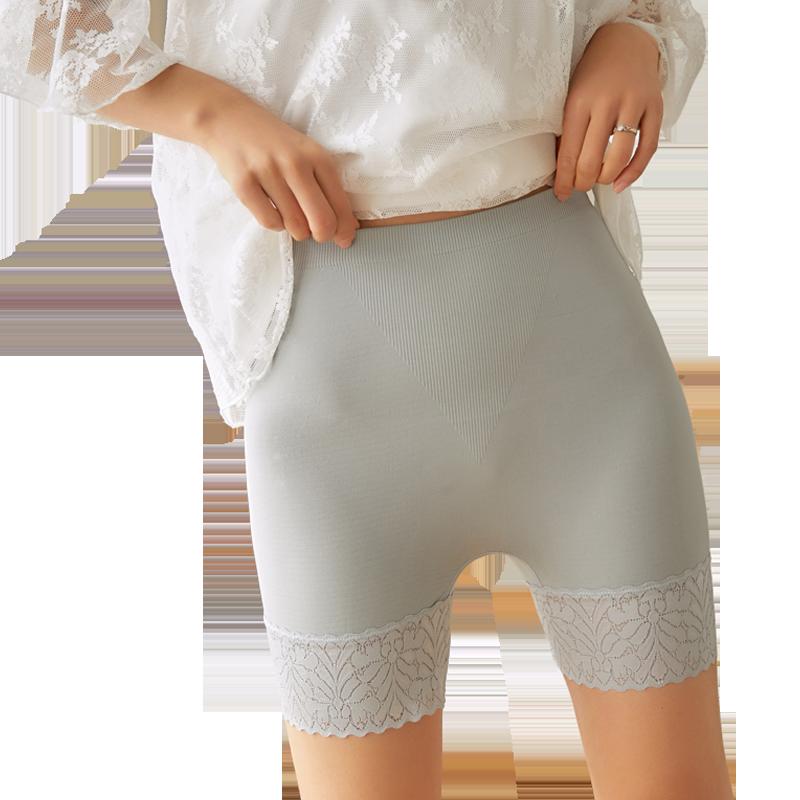 高腰收腹安全裤防走光女夏打底裤薄款内穿冰丝无痕保险裤打底短裤