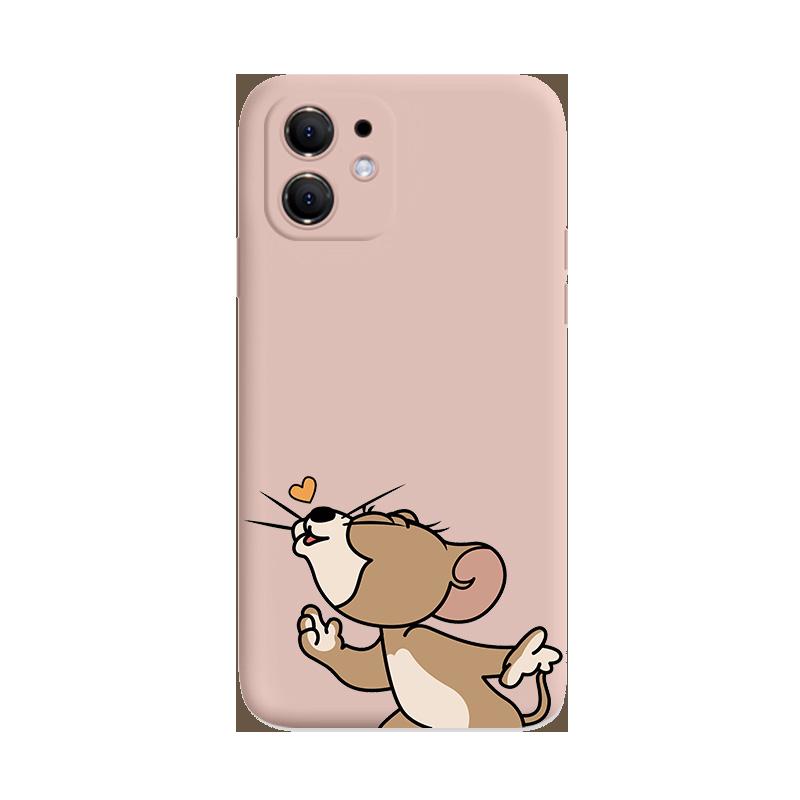 手机壳猫和老鼠苹果系列硅胶壳