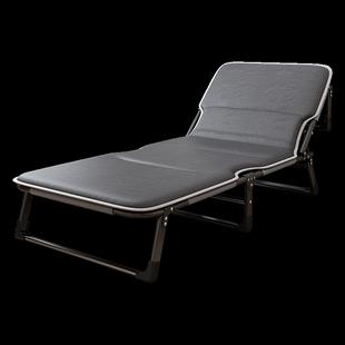 美憩摺疊牀單人牀辦公室午睡神器家用午休牀便攜行軍牀多功能躺椅