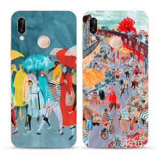 文藝術家油畫華為nova3 3e i nova2s plus手機殼美術生的個性軟殼
