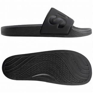 日本SUPERGA 休伯家 S111I3W-TTL_BLACK_920 黑色百搭休閒涼鞋