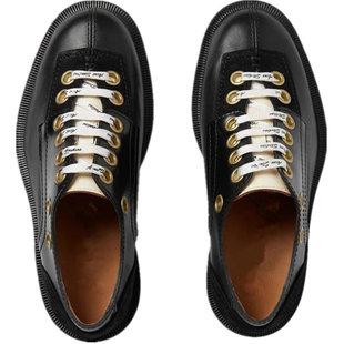 网红mona同款19春夏新款韩版小皮鞋