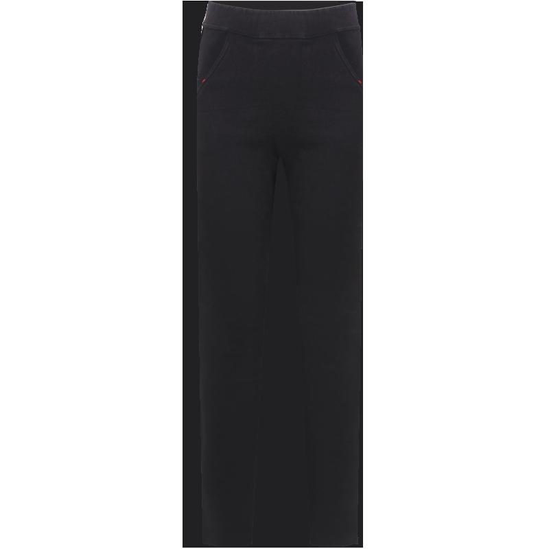 打底裤女裤高腰显瘦黑色秋冬季加厚加绒裤加长外穿小猫魔术小黑裤