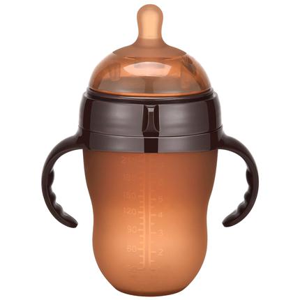 硅胶奶瓶全软新生宝宝仿母乳百利熊