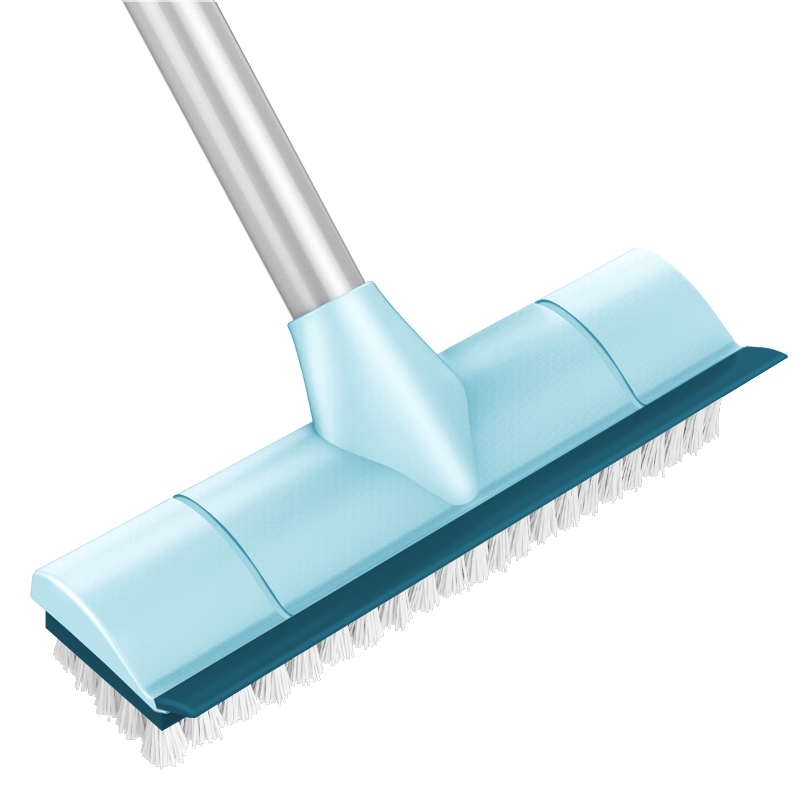 本上卫生间刷地刷子硬毛加长柄瓷砖清洁神器浴室厕所清洗刷地板刷