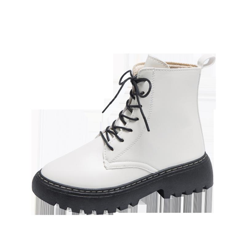加绒运动鞋女2019冬季新款韩版保暖老爹鞋女ins百搭学生加厚板鞋