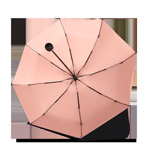 钛银胶太阳伞遮阳防晒防紫外线雨伞女晴雨两用小巧便携五折upf50+