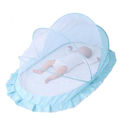 罩宝宝蒙古包无底可折叠0-5岁蚊帐