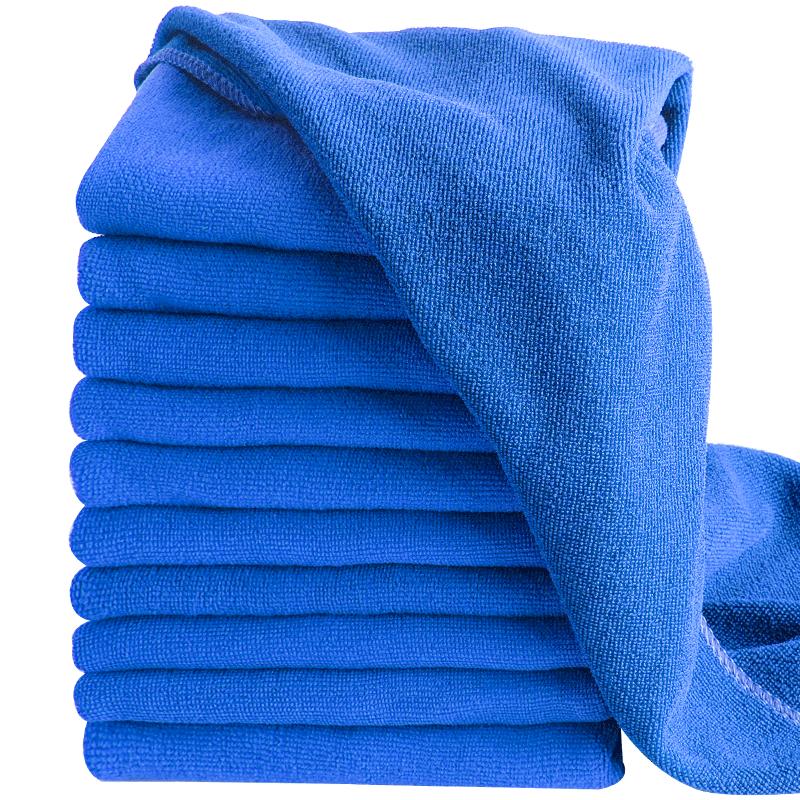 【车太太】吸水加厚擦车布专用巾*10条