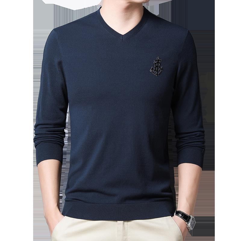 春季新款毛衣纯色薄款长袖打底衫