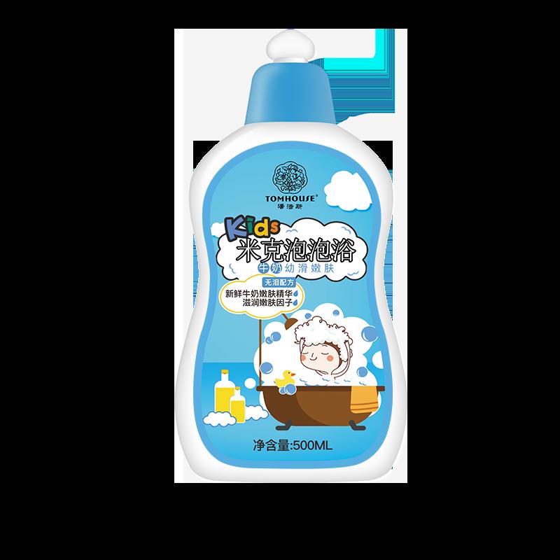 汤浩斯牛奶泡泡浴超多泡泡沐浴露