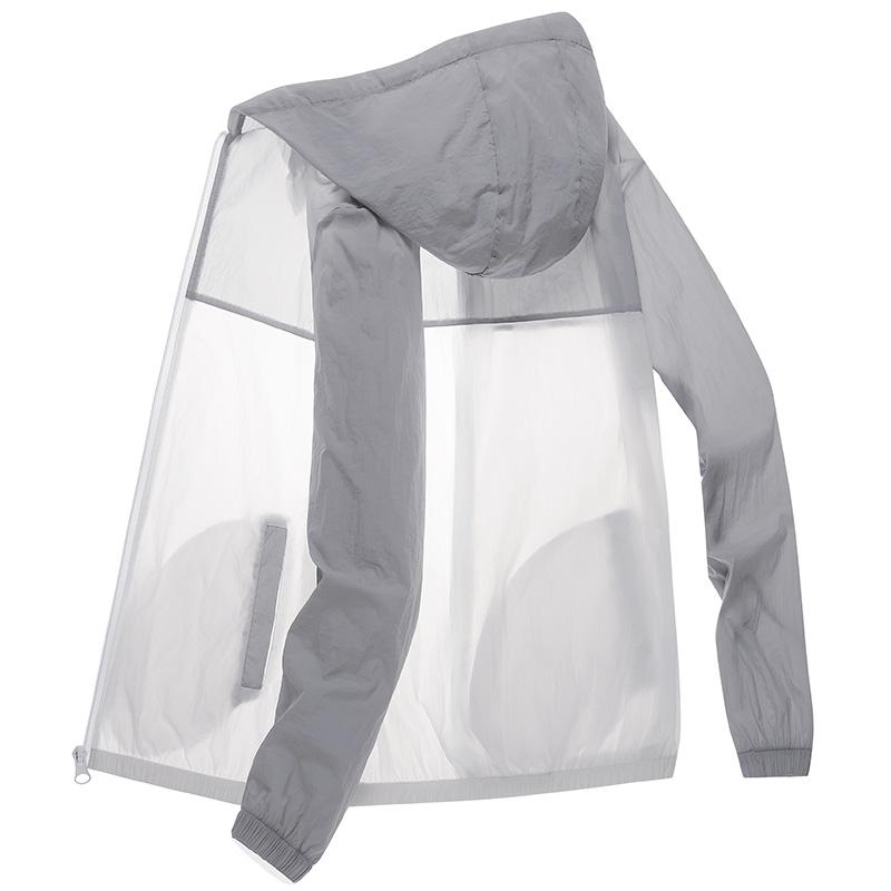 2020新款夏季皮肤衣户外超薄透气防晒衣男防晒服运动外套皮肤风衣