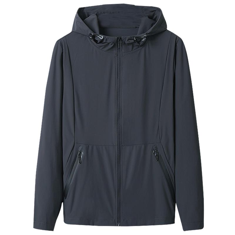 冰丝防晒衣服夏季男弹力宽松潮夹克质量如何?