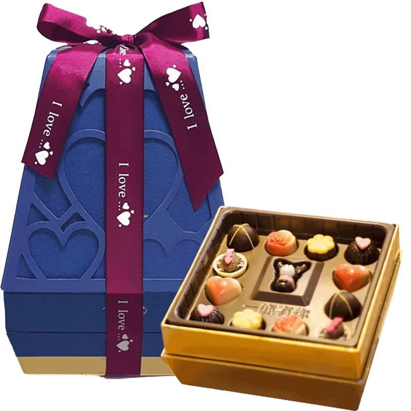 TORO圣诞节巧克力礼盒装礼物送男女朋友网红小鹿零食纯可可脂手工