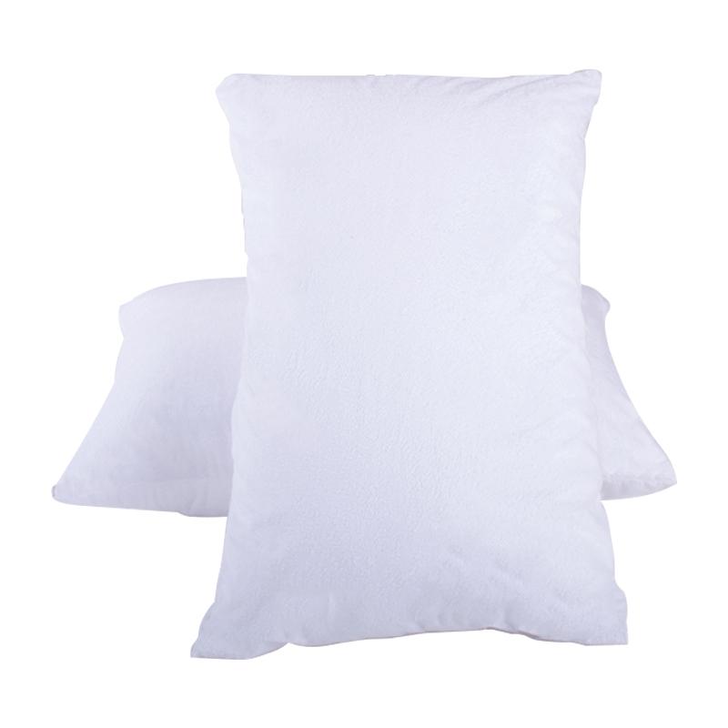 全棉枕套防水防螨防头油口水枕头套成人纯色枕芯保护套48x74枕巾
