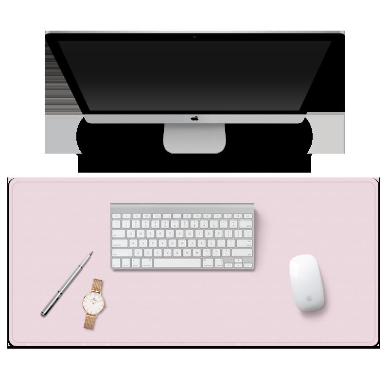 办公桌垫学生书桌学习写字垫鼠标垫超大键盘快捷键桌垫可爱女定制