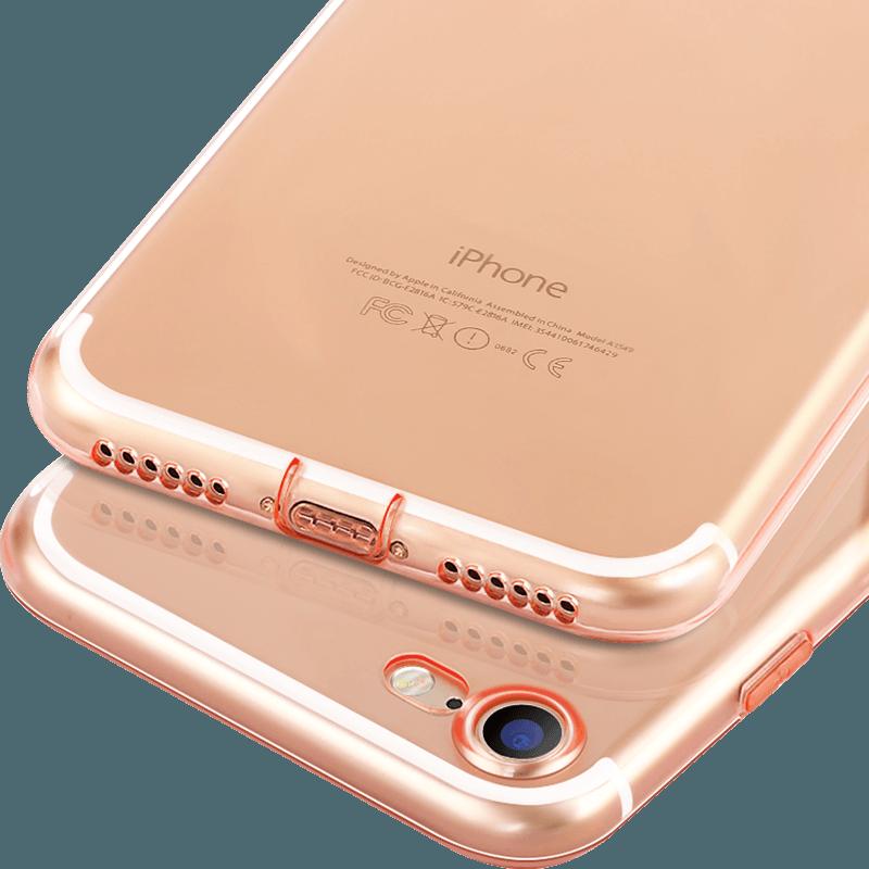 古尚古iphone7手机壳苹果7plus透明硅胶8超薄防摔适用8plus保护套ip6/6s女款全包保护套男款软壳潮牌plus新款