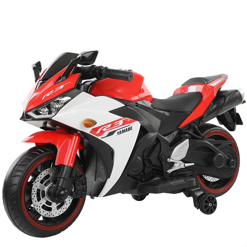 超大号电动摩托车3-7-10岁男女玩具