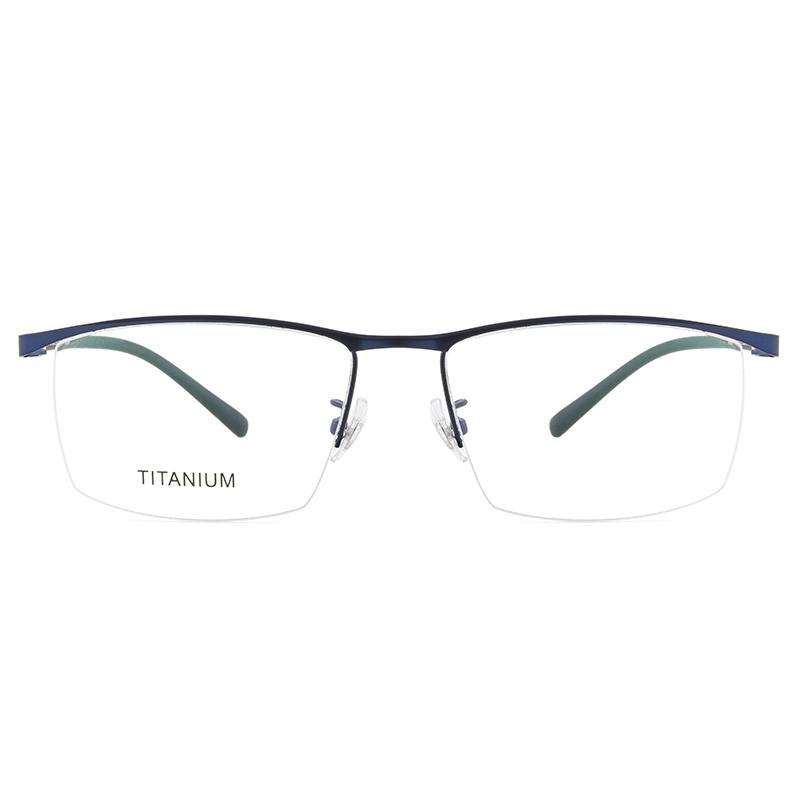 超轻钛合金大框近视眼镜变色防蓝光眼镜男大脸宽胖眼镜架可配度数