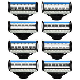 阿帕齐手动剃须刀片老式5层美国进口