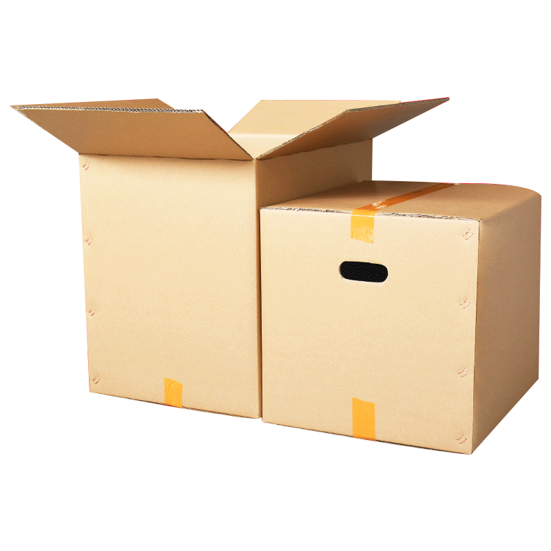 5个装 超大特硬搬家纸箱子收纳整理包装盒快递打包搬家大纸壳纸箱