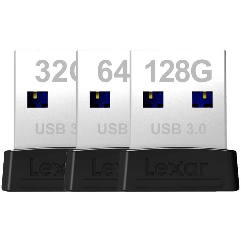 雷克沙 32g64g128g高速车载电脑优盘USB3.0移动正版超小迷你短U盘