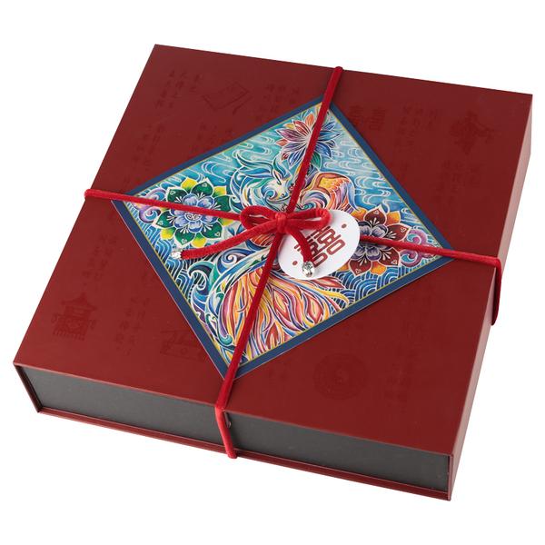 王的手创手工刺绣龙凤礼盒,300元左右送朋友新婚贺礼