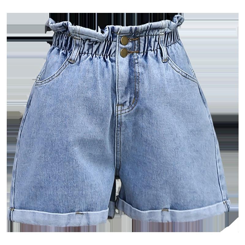 2020新款高腰牛仔短裤