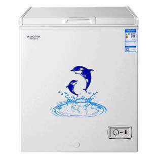 澳柯瑪 BC/BD-150HY冰櫃家用小型卧式冷櫃迷你商用冷藏冷凍小冰箱