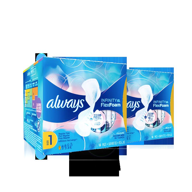 宝洁 护舒宝液体卫生巾日用36片