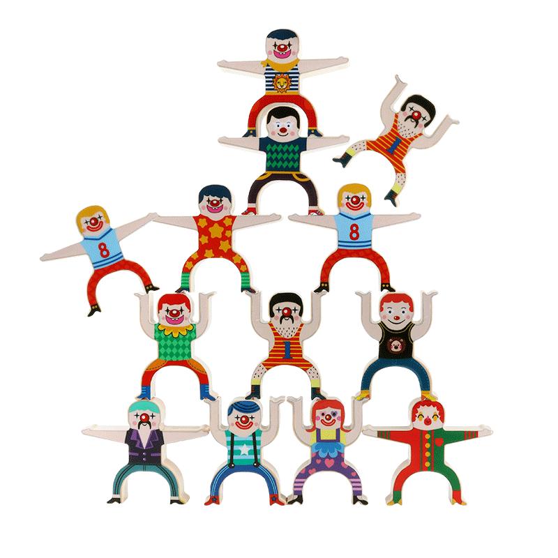 儿童大力士叠叠乐平衡积木