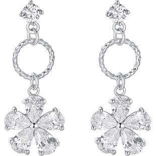 925纯银高级感女长款气质韩国耳环