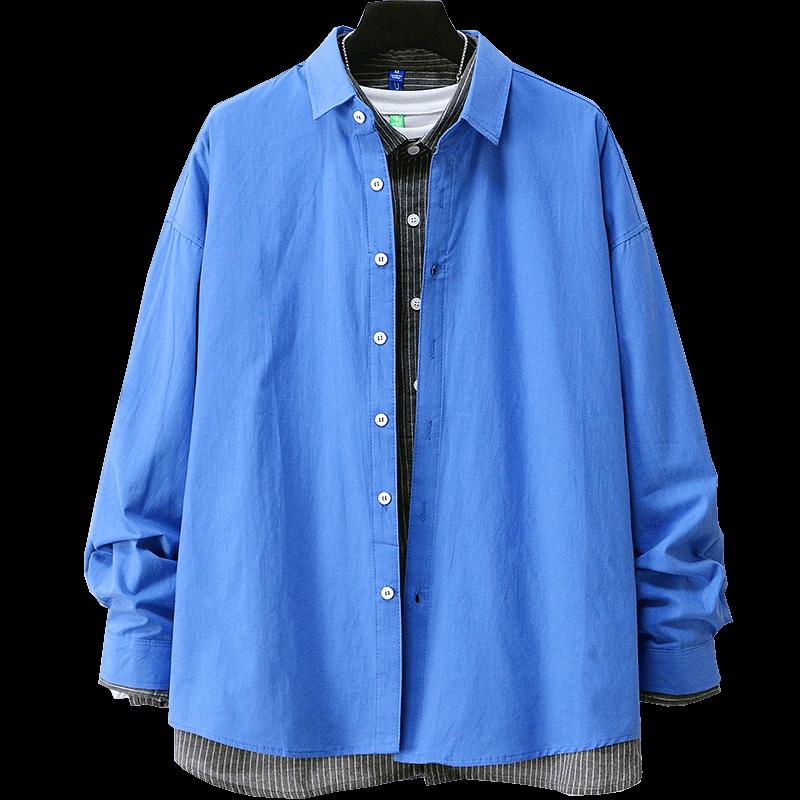 【13色可选】日系百搭纯色衬衣