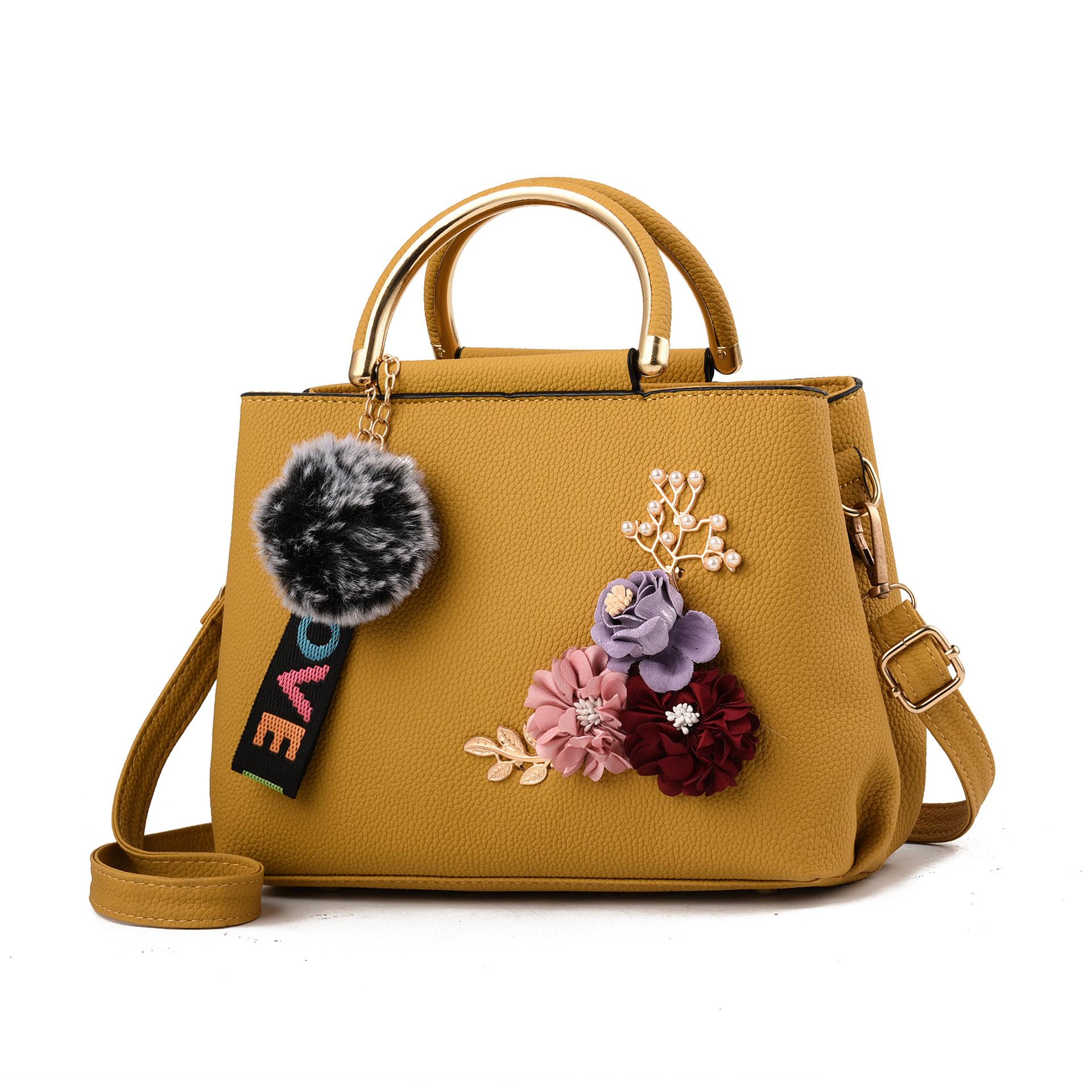 新款斜挎包袋休闲花朵女士包袋热销女包箱包男包皮具包手