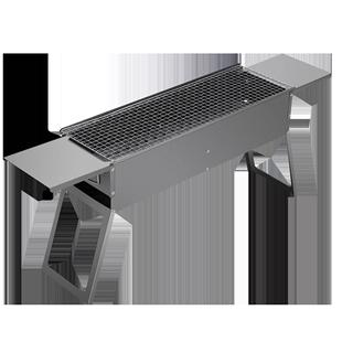 家用木炭燒烤爐烤肉爐户外燒烤架加厚架子野外碳烤爐烤架小型烤爐