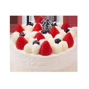 貝思客bestcake雙莓落雪草莓蛋糕