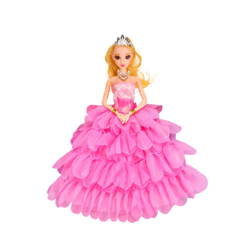 换装芭比洋娃娃套装大礼盒精致公主女孩玩具梦幻豪宅智能娃娃鞋子