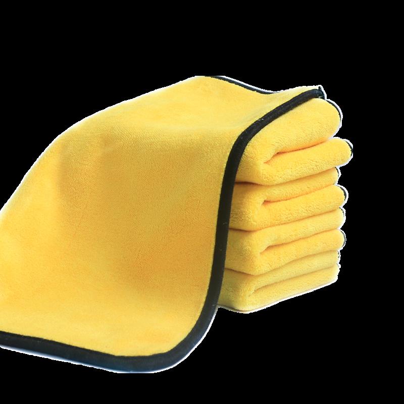 洗车毛巾擦车布专用巾汽车用吸水加厚大号非鸡皮不掉毛鹿皮巾抹布