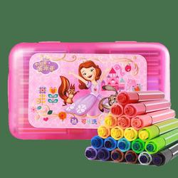 迪士尼 儿童水彩笔12色套装