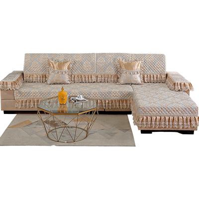 沙发垫欧式四季布艺贵妃坐垫