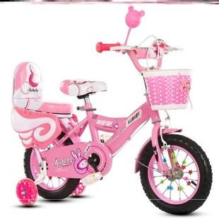 車子小學生7歲女童防滑輔助輪兒童自行車女寶寶通用公主款中大童