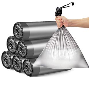 家用加厚手提背心式黑色大号垃圾袋