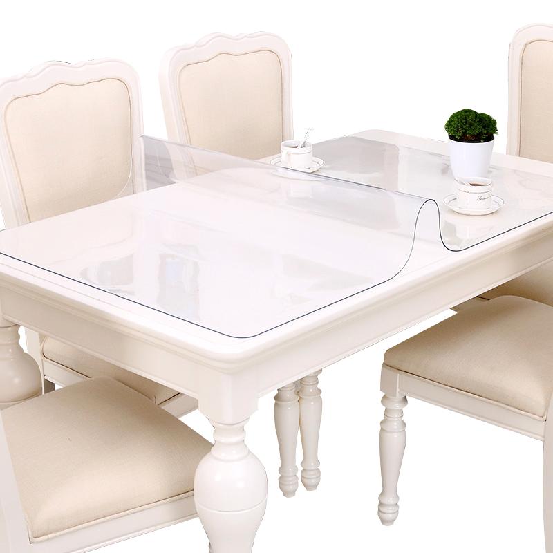 竹月阁大尺寸软玻璃餐桌垫SGS检测认证
