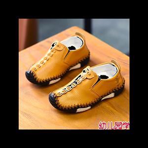2019春季男童鞋子韩版男孩皮鞋