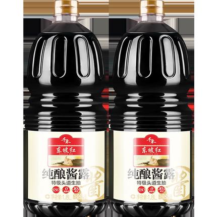 东坡红纯酿酱露特级180天千禾酱油