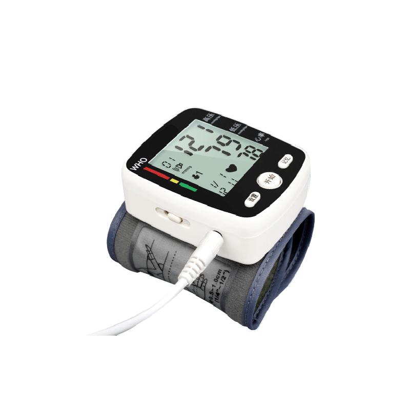 血压计家用老人手腕式全自动充电测量仪器