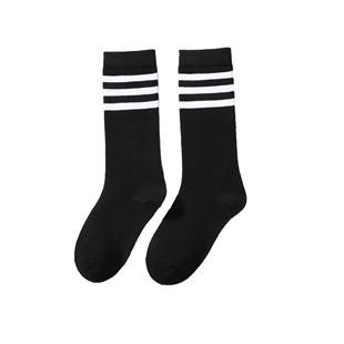 浪莎長筒襪女襪子過膝高筒韓版黑色小腿襪日系半截中筒襪ins潮版